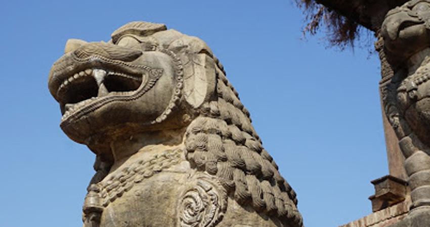 Stone architect in Kathmandu durbarsquare
