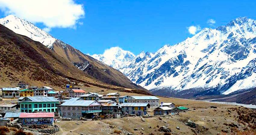 Langtang Valley and Ganja-La pass Trek