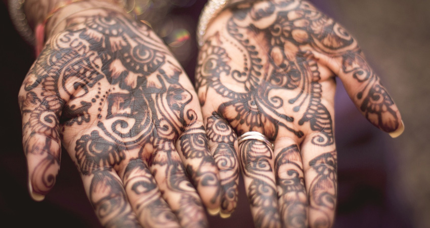 Indian Local Culture-Mehendi Painting